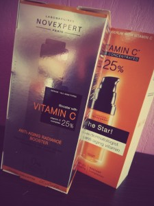 Novexpert et son Booster de vitamine C
