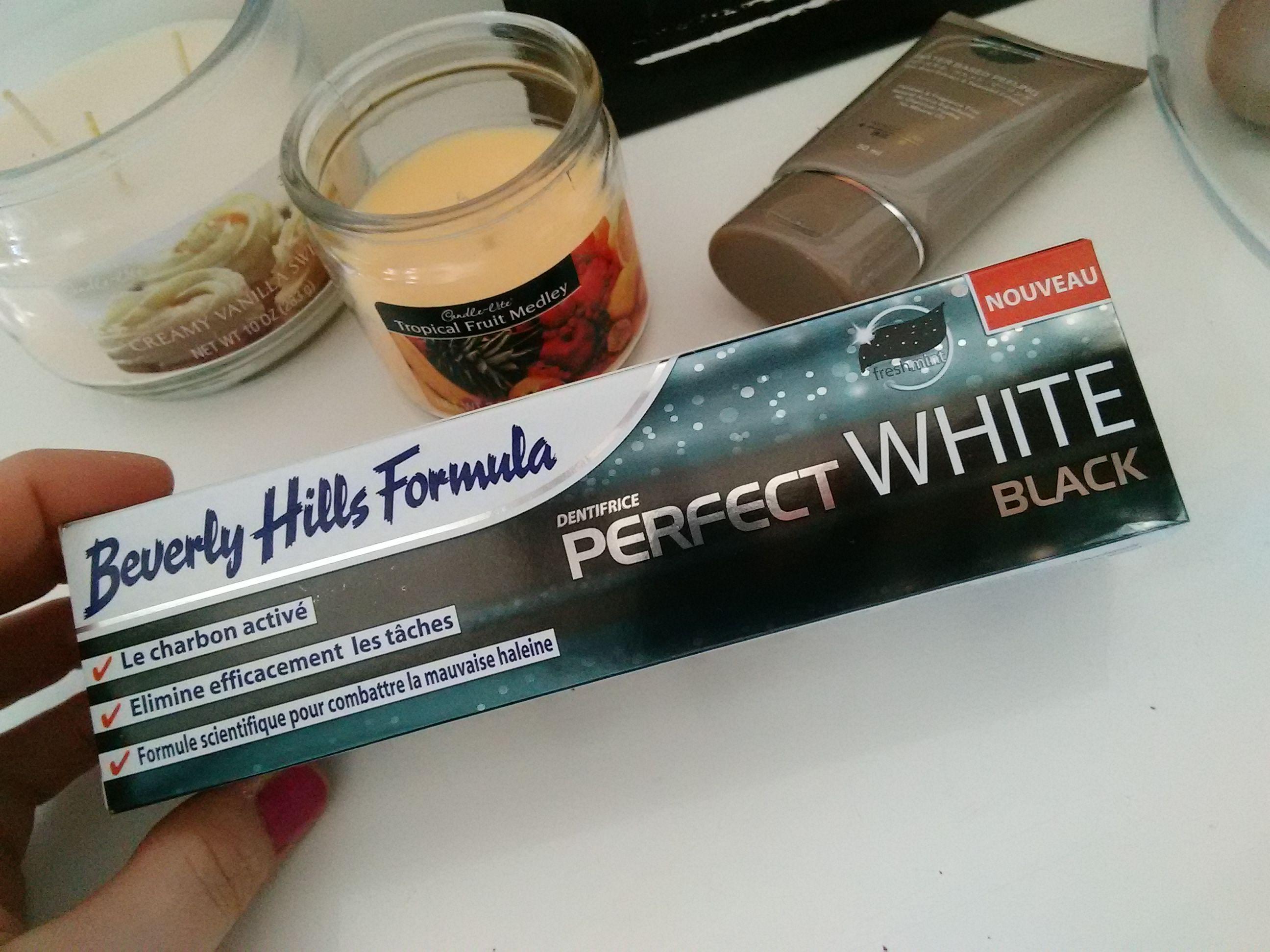 beverly hills formula perfect white black une minute de beaute. Black Bedroom Furniture Sets. Home Design Ideas