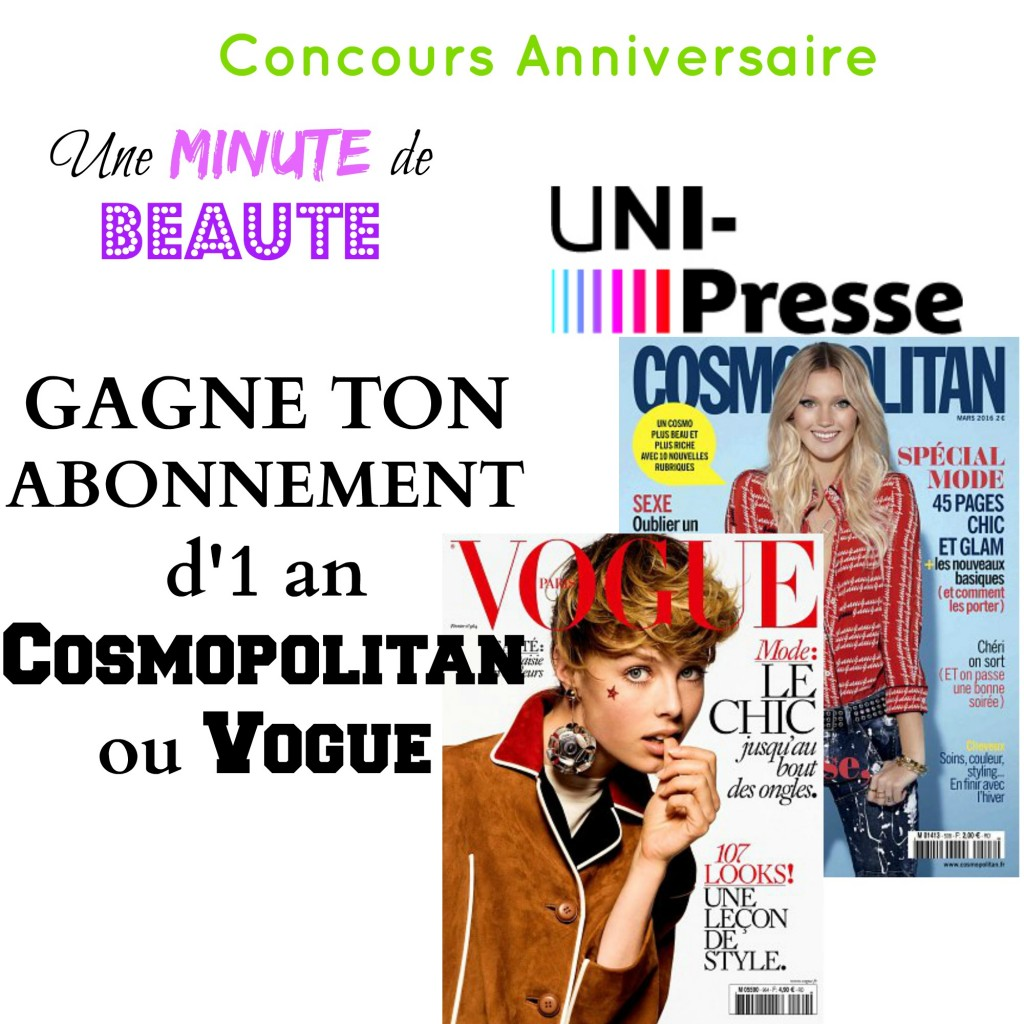 Concours Uni-Presse : gagne ton abonnement magazine préféré