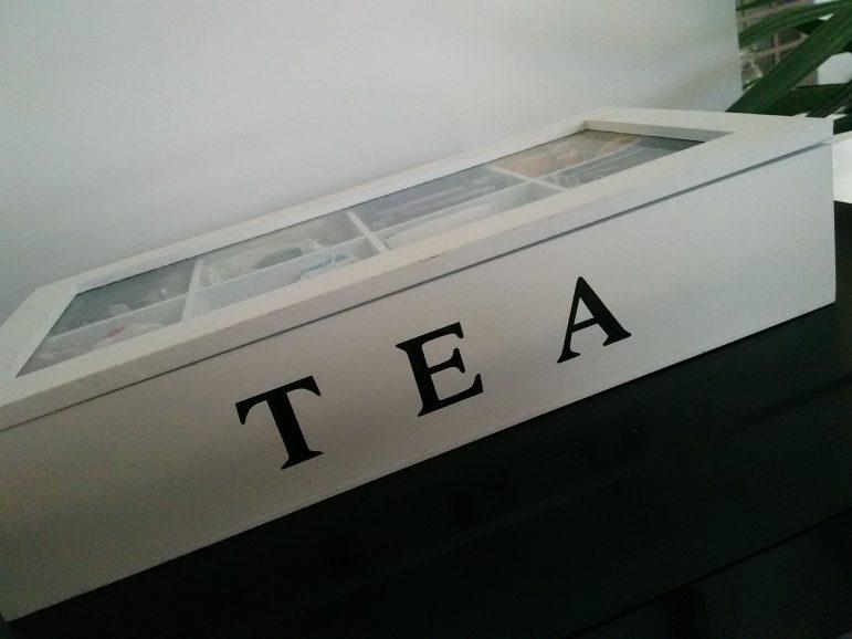 Ma jolie boîte à thé !#Babou