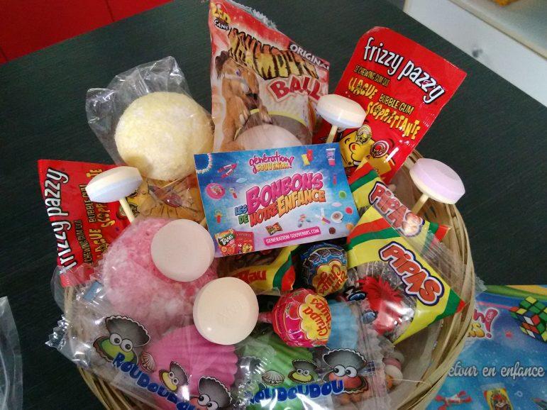 Gagne les bonbons de ton enfance Génération Souvenirs
