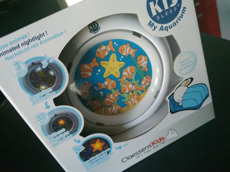 CONCOURS La veilleuse My Aquarium de Claessens' Kids