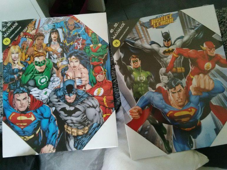 Des superhéros chez Babou