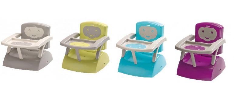 Le rehausseur de chaise by thermobaby test une minute for Rehausseur de chaise 4 ans