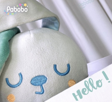 Mimi Bunny , le nouveau copain de Gabin / PABOBO
