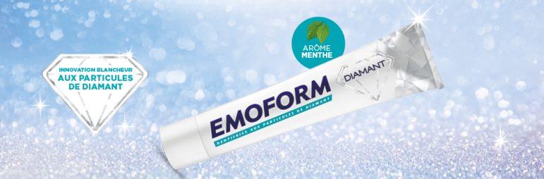 Emorform Diamant le dentifrice innovant !