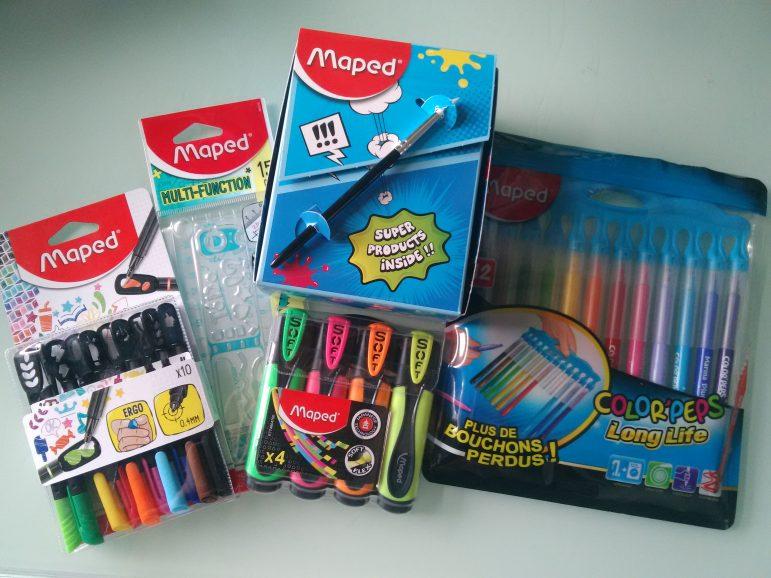 Du nouveau chez Maped pour une rentrée des classes Hyper fun !