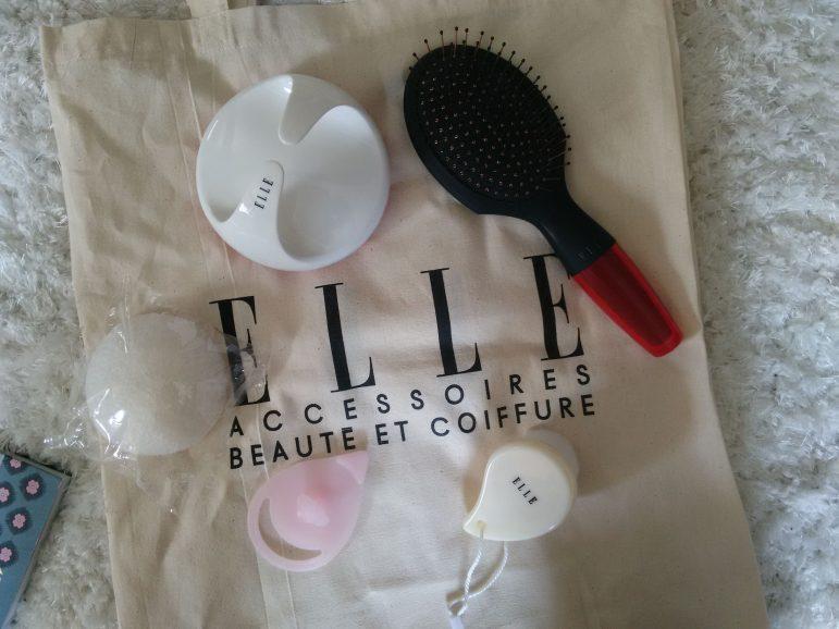 Je craque pour les accessoires beauté de chez ELLE !