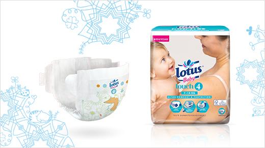 Mon avis sur les couches Lotus Baby Touch
