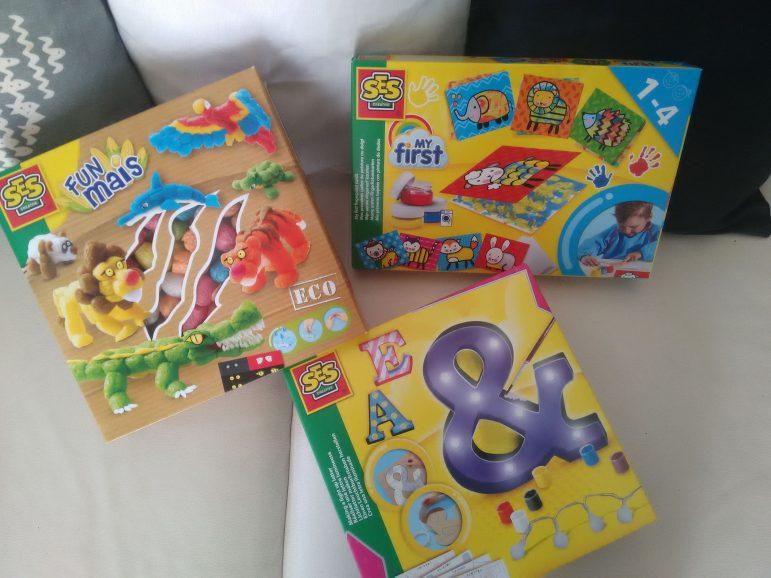 SES Creative , les jeux de mes enfants pour les vacances