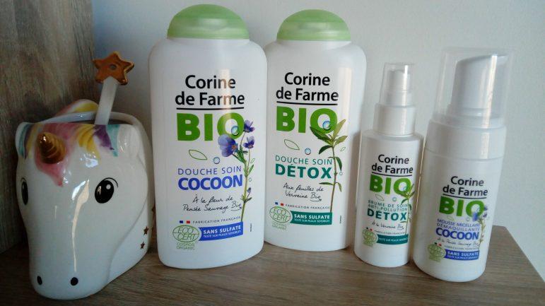 La jolie gamme Bio de Corine de Farme