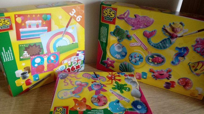 Les jolis kits peinture SES Creative