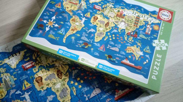 Les puzzles solidaires Educa / SOS villages d'enfants