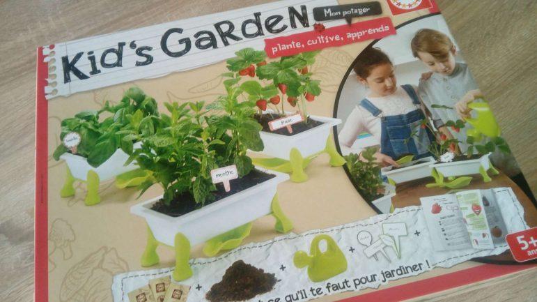 Apprendre à jardiner avec les Kid's Garden d'Educa / Concours