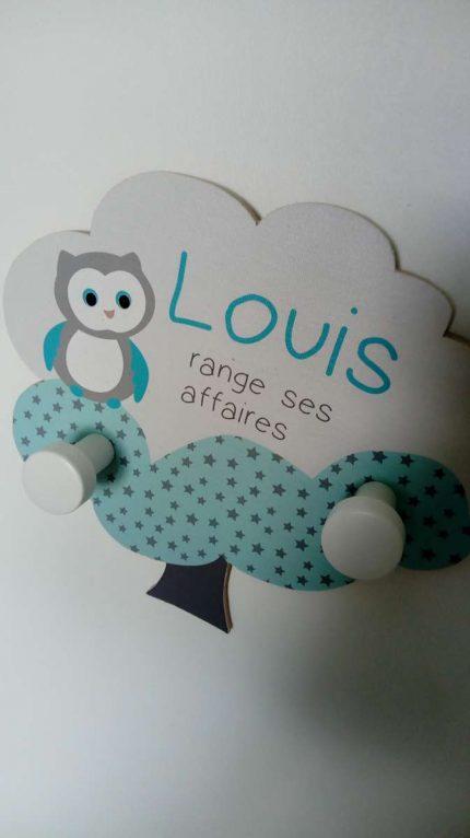 Baby'sphère ou le joli porte-manteau de Louis