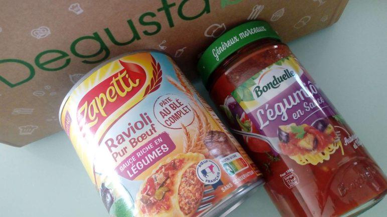 Degustabox de septembre Saine et gourmande