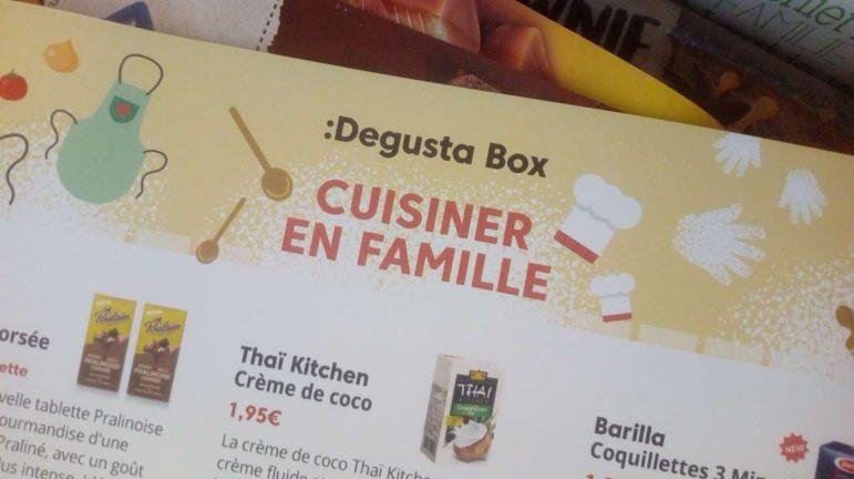 DEGUSTABOX / Cuisiner en famille