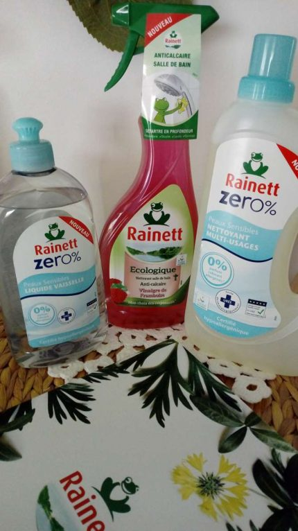 Nouvelle gamme Zéro % / Rainett