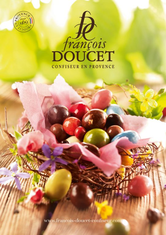 Les douceurs de Pâques par François Doucet Confiseur