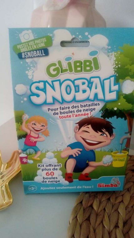 De la neige en été ! Glibbi Snoball /Simba toys