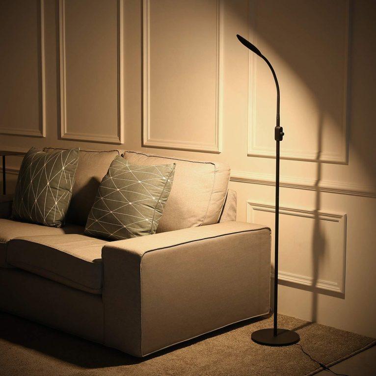 Test du lampadaire Moderne à LED AUKEY+ concours