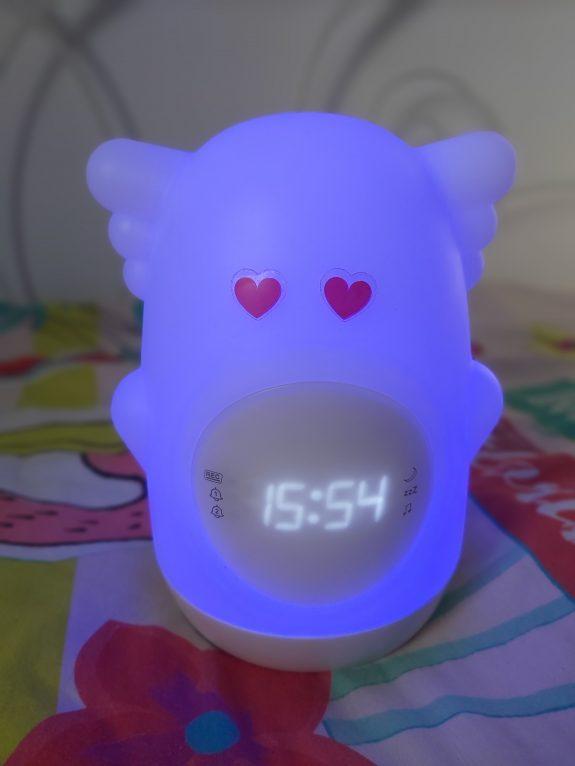 AKSO , le réveil lumineux canon de chez Bigben