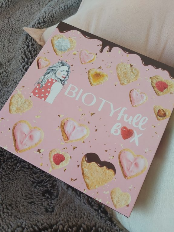 La Biotyfull box Saint-Valentin Gourmande