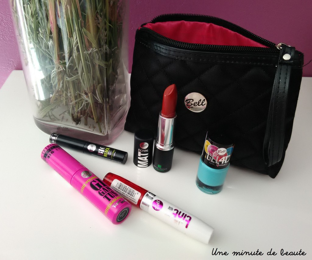 Concours / Ma trousse make up Bell