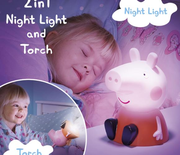 Nouveauté Le Peppa Pig GoGlow Soft Light