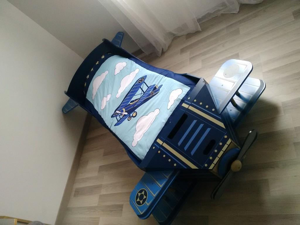 Jardindéco et le nouveau lit de mon fils