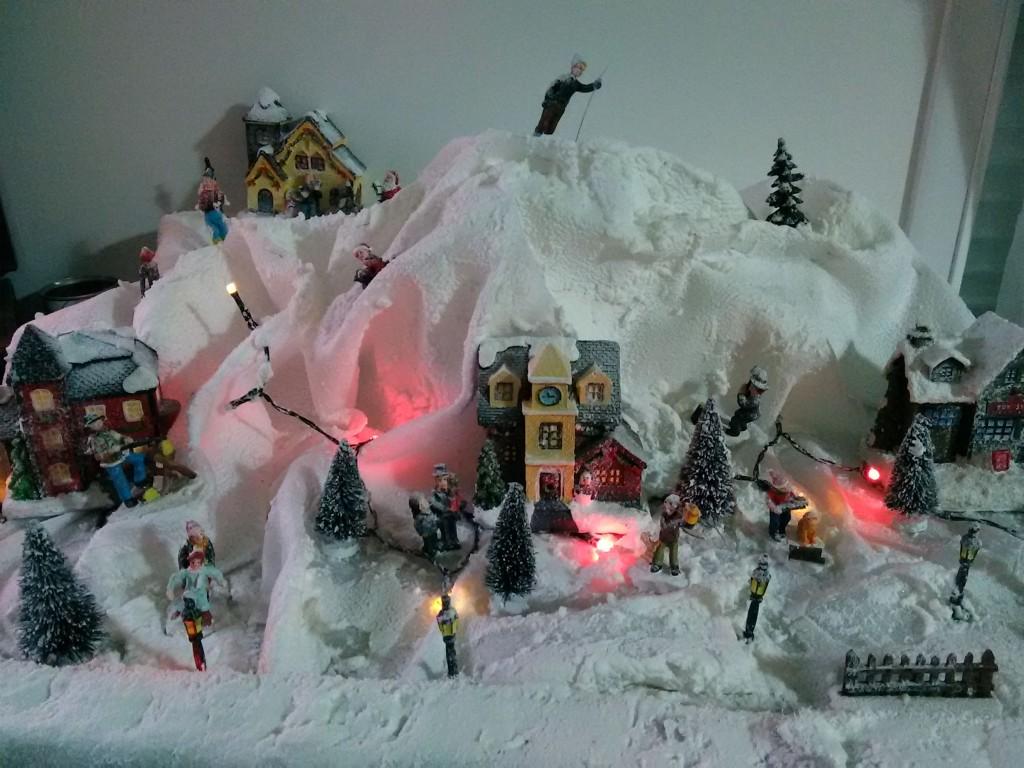 Un village de Noël fait maison !