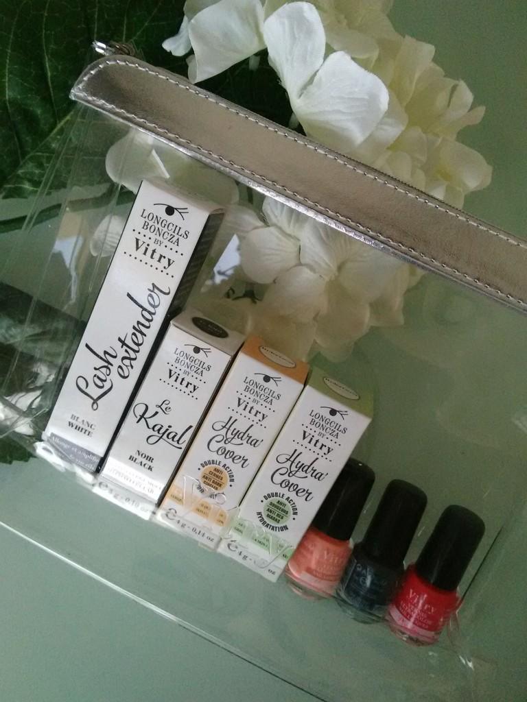 Mes produits Vitry pour un make up parfait