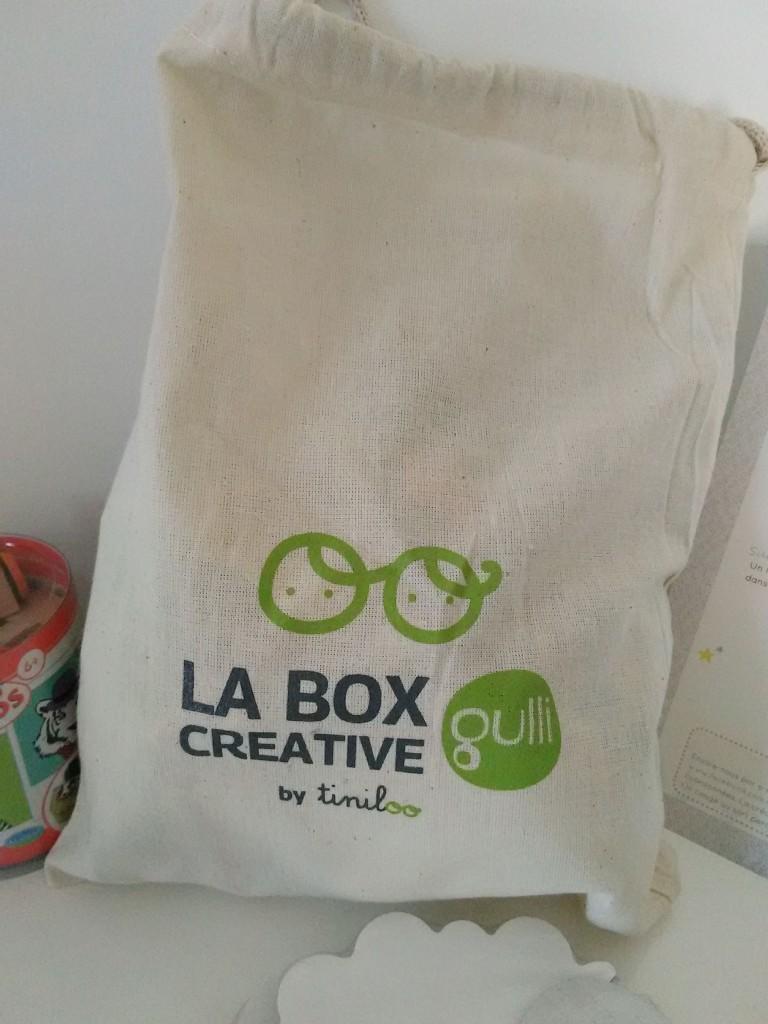 La Box créative by Tiniloo et Gulli pour les 3-9 ans