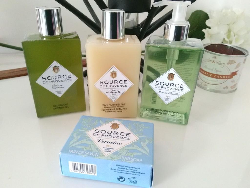 La beauté naturelle avec Source de Provence