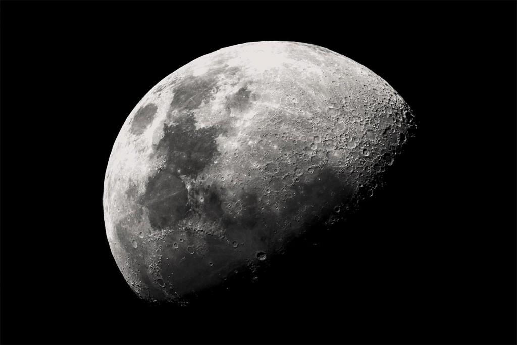 Ma toile géante Moon Scenolia