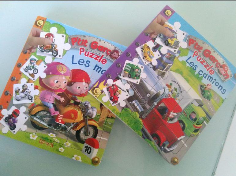 Concours : Les nouveaux livres Puzzles de chez Fleurus