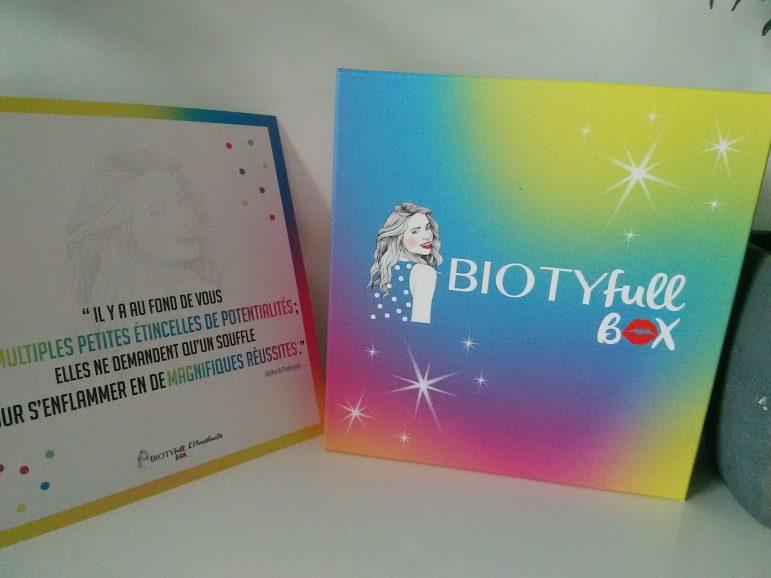 Je vous dis tout sur le contenu de la Biotyfull box de juin!