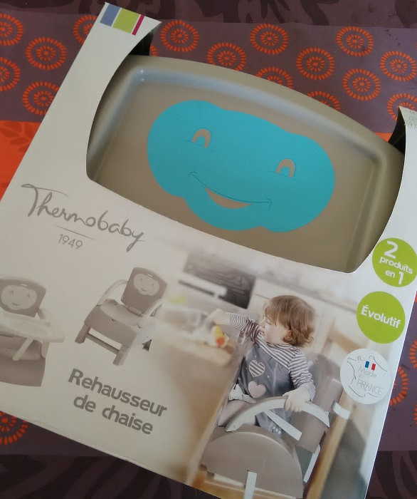 Le rehausseur de chaise by Thermobaby / TEST