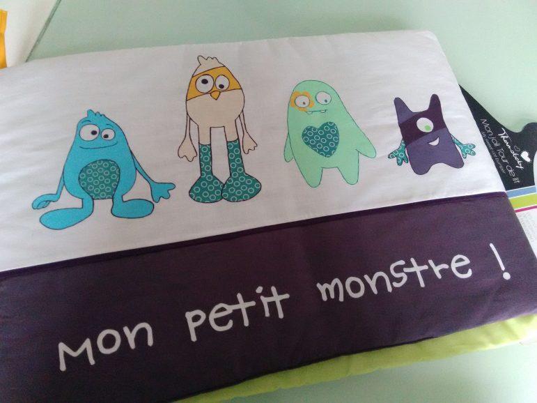 """Thermobaby et le tour de lit """" Mon petit Monstre"""""""