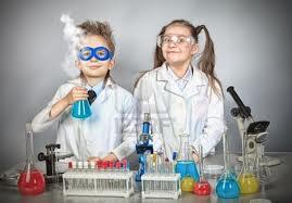 Un petit chimiste heureux pour Noel ! #JARDINDECO