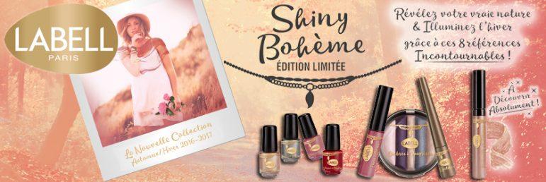 Make Up : La collection renversante Shiny Bohème de Labell