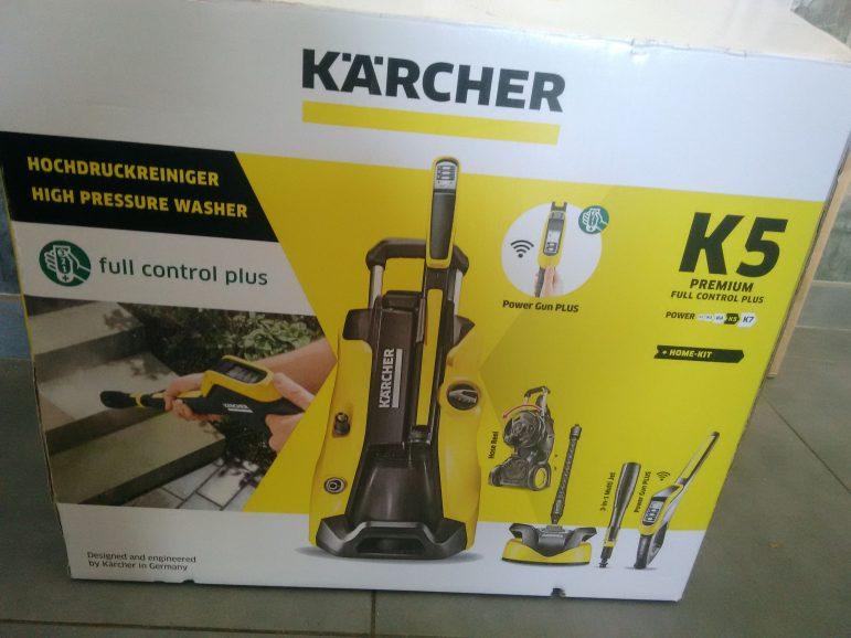 Un décapage pour l'été avec Kärcher