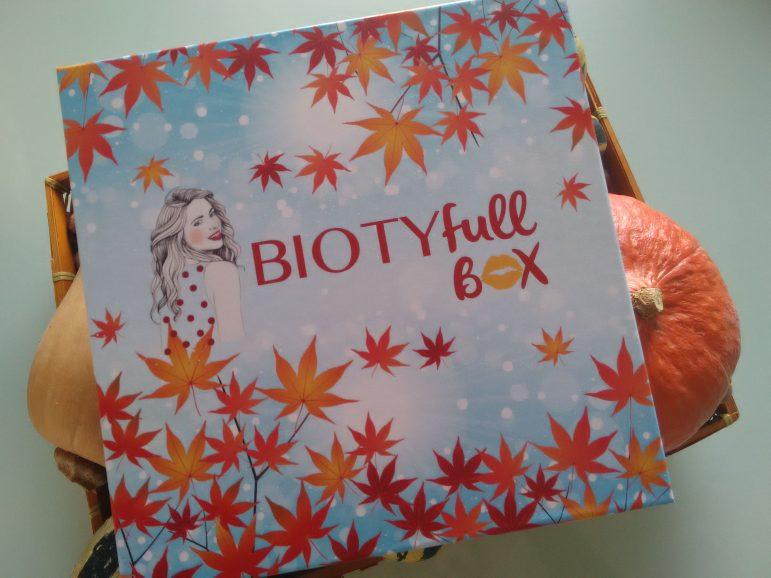 Mais que contient la Biotyfull Box d'octobre ?