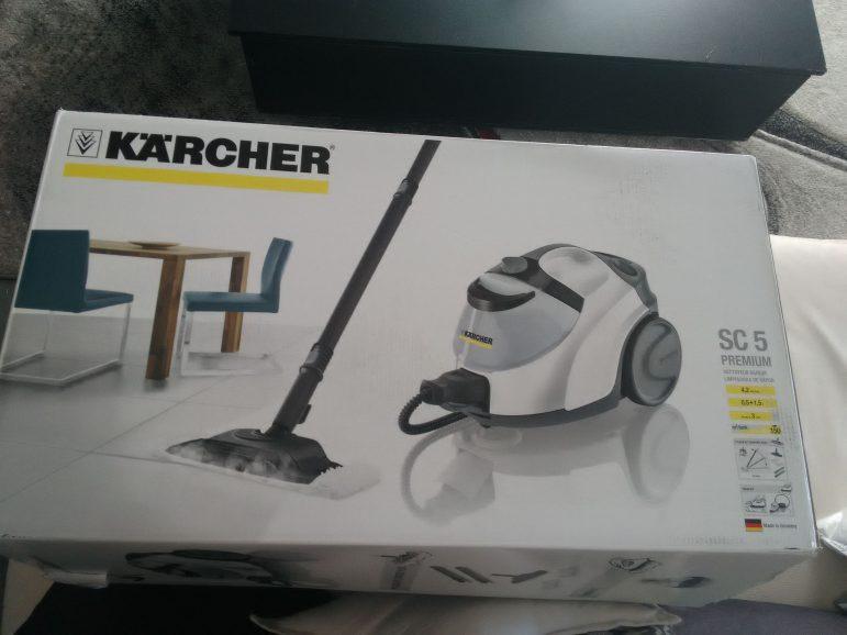 Le Karcher SC5 qui facilite le ménage à la maison !