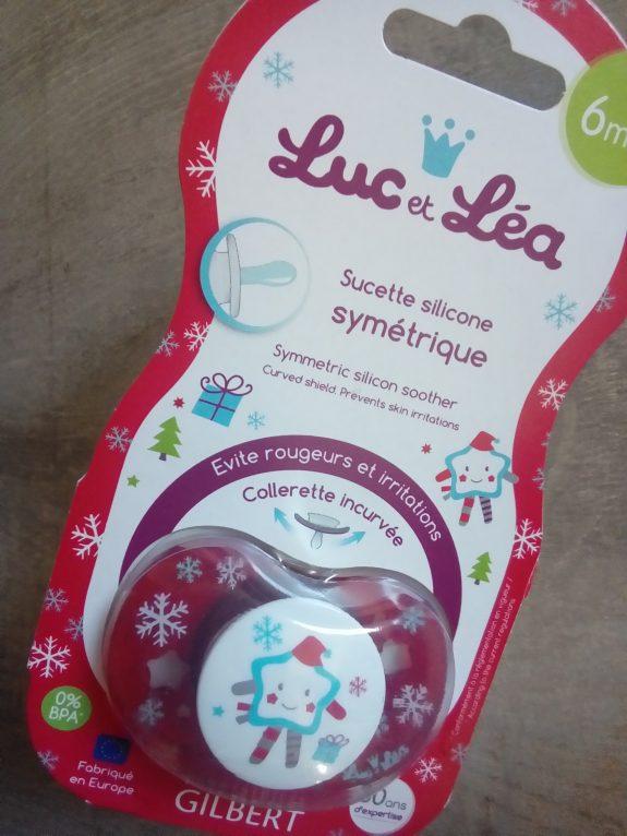 Les tétines de Noël Luc et Léa