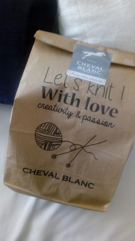 Mon joli kit @Cheval blanc pour passer l'hiver au chaud