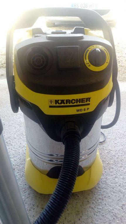 Test du WD 6 P Premium Karcher