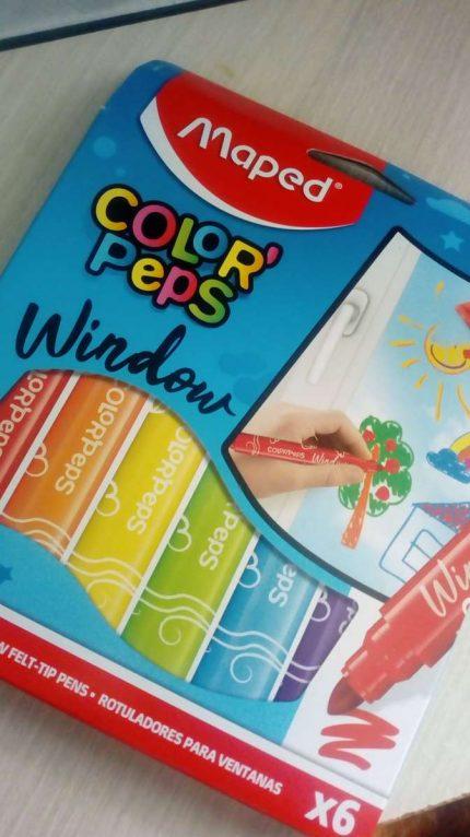 On a testé les MAPED Color'peps Window