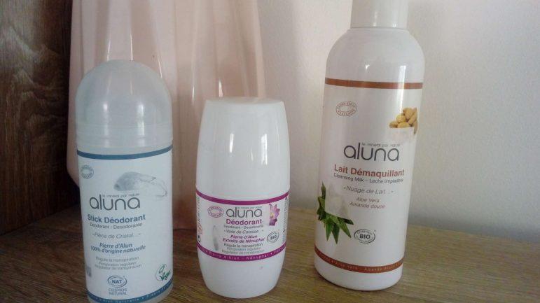 Découverte de la marque Aluna  des laboratoires Osma