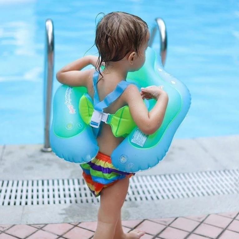 Nager avec Bébé en sécurité !